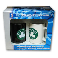 Hunter 2 Pack Coffee Mug - Boston Celtics