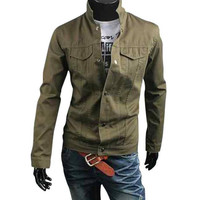 The Bishop Jacket Army Green