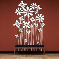 Beautiful Flowers Wall Decal