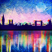 London Art Print by Mark Ashkenazi