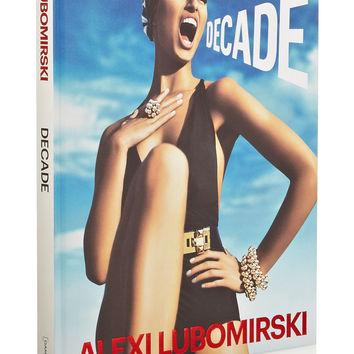 Abrams - Decade by Alexi Lubomirski hardcover book