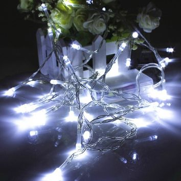 1M 10 Led String Christmas Lights Strings Battery Colorful