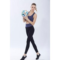 2016 Women    Athletic Gym Yoga Clothes Running Yoga Fitness Sports Suits Indoor Workout Clothes#20