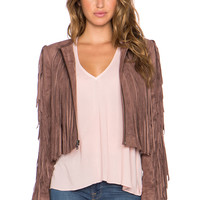 BCBGMAXAZRIA Farrell Jacket in Toffee
