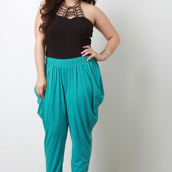 Tapered Harem Pants