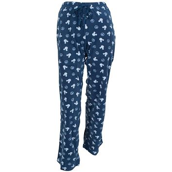 Mickey Mouse - Peace Fleece Juniors Sleep Pants
