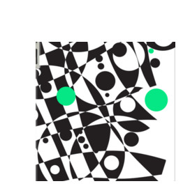 A Dot of Verde By Polka Dot Studio for Apple iPad 3