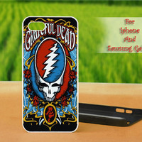 Grateful Dead Dancing Bear - Print on hard plastic case for iPhone case, Samsung Galaxy case and iPod case. Select an option