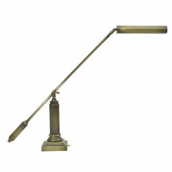 House Of Troy P10-191-71 Antique Brass Piano/Desk Lamp