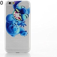 Lilo & Stitch Iphone 4/4s Phone Case with Screen Protector