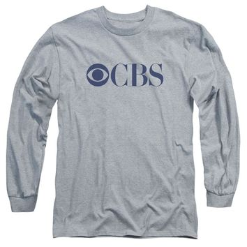 Cbs Logo Long Sleeve Adult 18/1