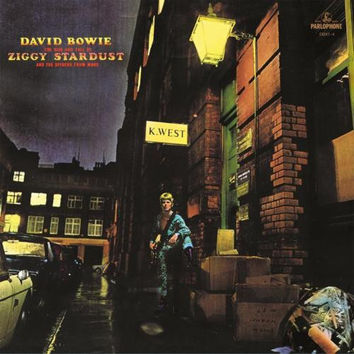 The Rise And Fall Of Ziggy Stardust And the Spider From Mars- Bowie