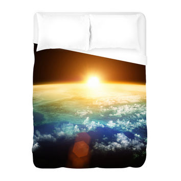 Solar Horizon Duvet Cover