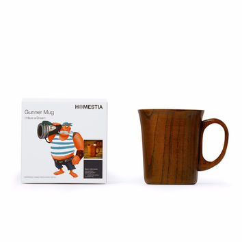 Wooden Coffee Cup Mugs