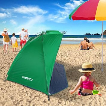 TOMSHOO Outdoor Sports Sunshade Tent for Fishing Picnic Beach Park beach Tents