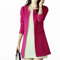 Women Long Blazer Jackets
