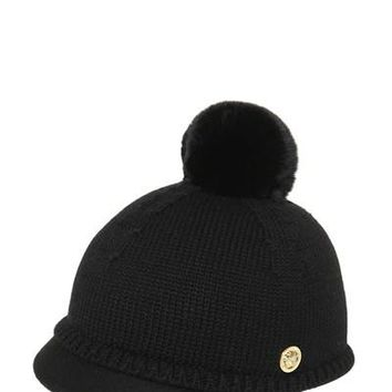 Versace Girls Black Hat