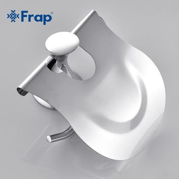 Stainless steel Cover Toilet Paper towel holder Zinc alloy Mounting seat F3503