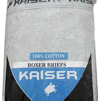 kaiser 2 pack boxer briefs - 2xl Case of 12