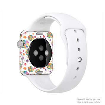 The Lollipop Candy Pattern Full-Body Skin Set for the Apple Watch