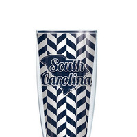 Carolina Theme Tumbler -- Customize with your monogram or name!