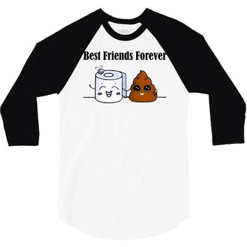 best friends forever 3/4 Sleeve Shirt