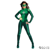 Green Lantern Adult Women's Costume