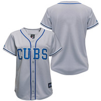 Chicago Cubs Women's Alternate Replica Jersey by Majestic Athletic