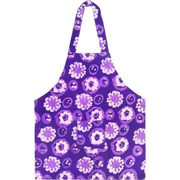 Kids Apron - Meadow Purple - Organic Cotton - Global Mamas (A)