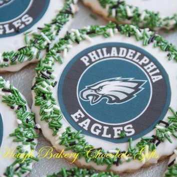 Philadelphia Eagle Icing Sugar Cookies