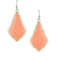 Alex Earrings in Coral Magnesite - Kendra Scott Jewelry