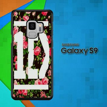 1D One Direction Floral V0288 Samsung Galaxy S9 Case