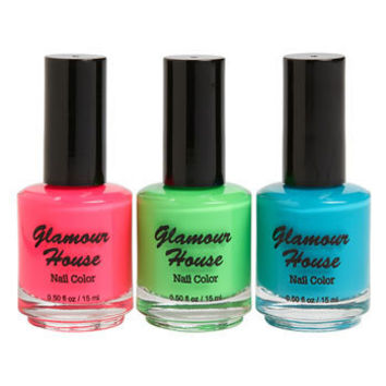 Glamour House Nail Polish (3-Pack) | Nordstrom