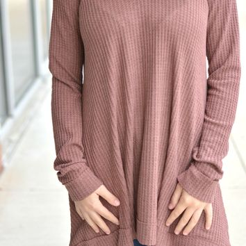 By My Side Tunic - Mauve