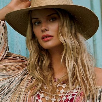 Free People Siesta Straw Sun Hat