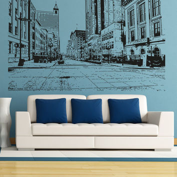 Vinyl Wall Decal Sticker North Carolina Street #5066