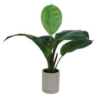 Artificial Green Plant in Ceramic Pot - Threshold™ : Target