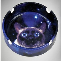 Galaxy Cat Ashtray - Spencer's