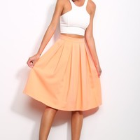 HelloMolly | Maddie Skirt Neon Orange