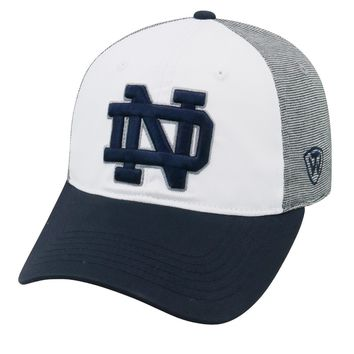 Notre Dame Fighting Irish Hustle Stretch Hat By Top Of The World