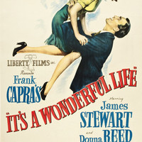 It's A Wonderful Life Movie Poster - 3 sizes available, one low price.