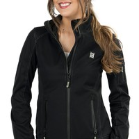 BEX Women's Black Aydee Soft Shell Jacket