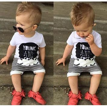 Summer children Bob chooses shorts for baby girls boys cross printed pants shorts baby cute kids clothes