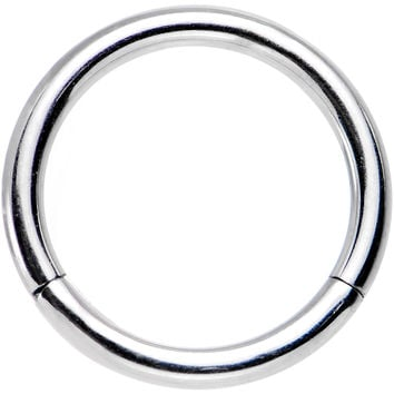 "16 Gauge 5/16"" Stainless Steel Hinged Segment Ring"