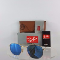 Brand New Authentic Ray Ban RB 3548 Sunglasses 001/90 Mirrored 51mm RB3548
