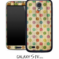 Vintage Polka Dotted Skin for the Samsung Galaxy S4, S3, S2, Galaxy Note 1 or 2