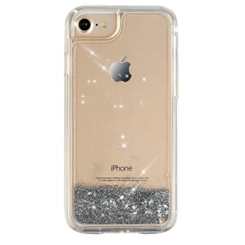 Silver Glitter Dual iPhone Case