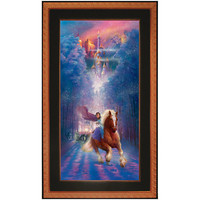 Disney Framed Limited-Edition Beauty and the Beast Giclée ''Belle's Search'' | Disney Store