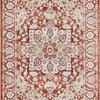 2928 Cooper Red Vintage Medallion Oriental Area Rugs