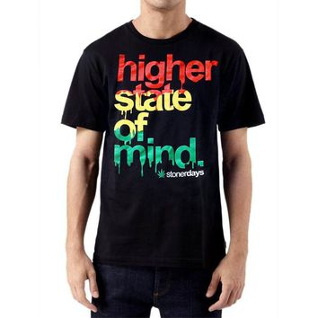 MEN'S RASTA HIGHER STATE OF MIND TEE